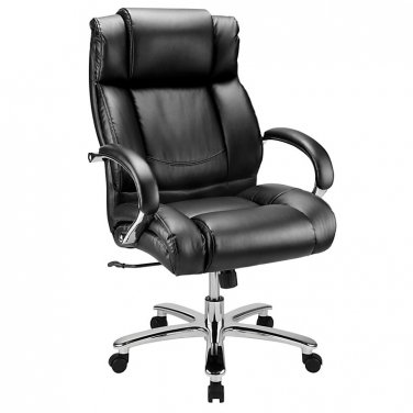 WorkPro 15000 Series Big & Tall High-Back Chair, Black/Silver