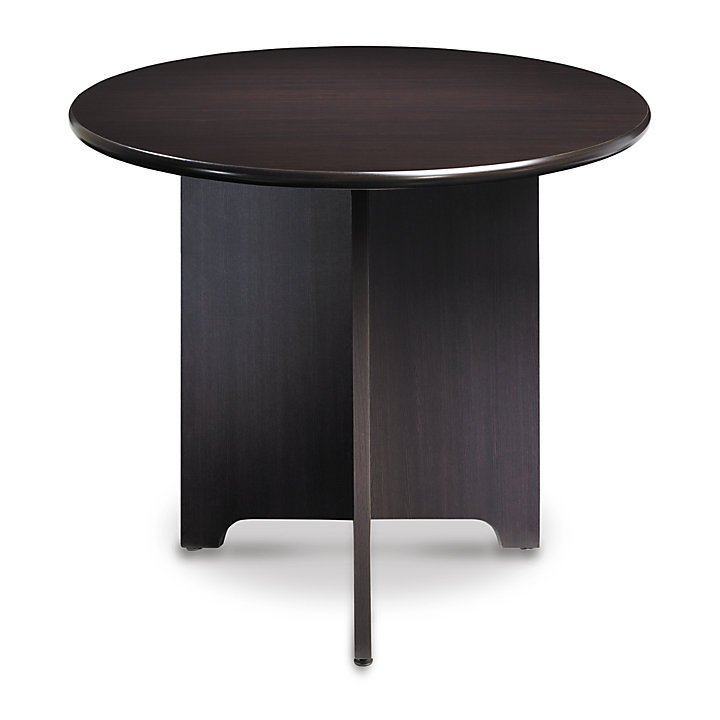 "Realspace Magellan Performance Conference Table, Round, 37 3/4"" Diameter, Espresso"