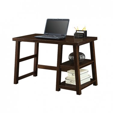 Whalen Triton Desk, Walnut