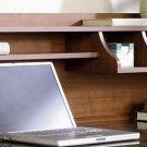 Sauder Appleton Hutch For Computer Desk, Sand Pear