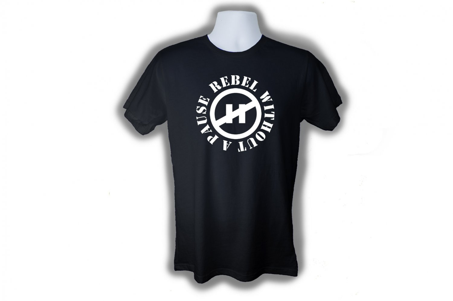 REBEL WITHOUT A PAUSE T-SHIRT (L)