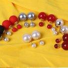 Dior New 2016 tribal earrings pearl