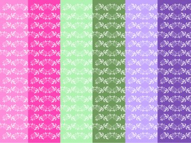 12 Digital Scrapbook Paper Floral Pattern Candy Colors