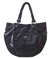 Large Fashion Handbag - Paris Black