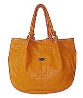 Large Fashion Handbag - Paris Orange
