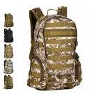Tactical Outdoor Backpack 35L Waterproof Travel Bag - Desert Digital