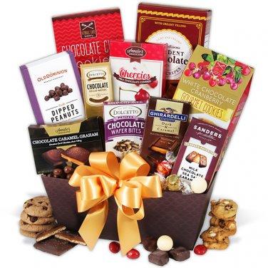 Bake chocolate cookies giftbasket
