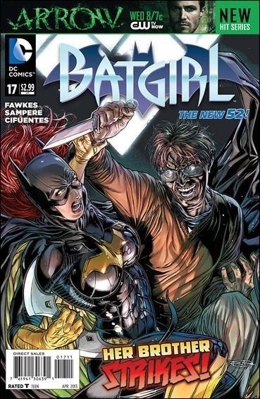 BATGIRL # 17 NEW 52