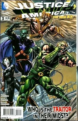 JUSTICE LEAGUE OF AMERICA # 3 (2013) THE NEW 52