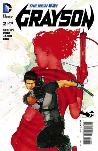 Grayson #2 [2014] VF/NM DC Comics