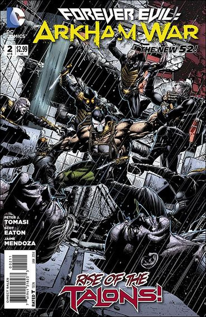Forever Evil: Arkham War #2 [2014] VF/NM DC Comics