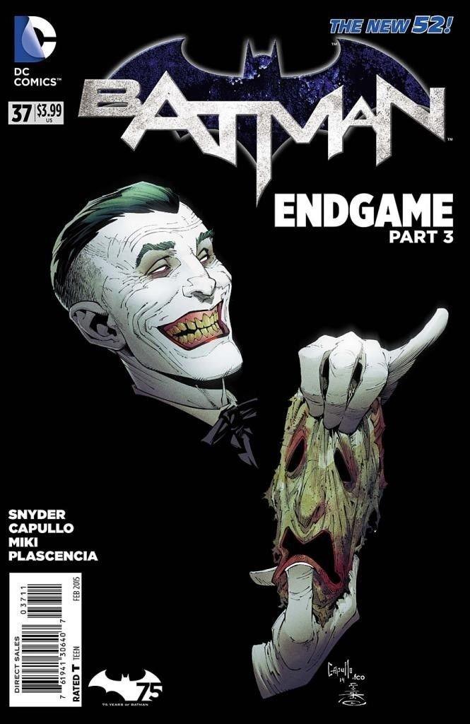 Batman (Vol 2) #37 [2015] End Game Part 3 Starring Joker VF/NM DC Comics