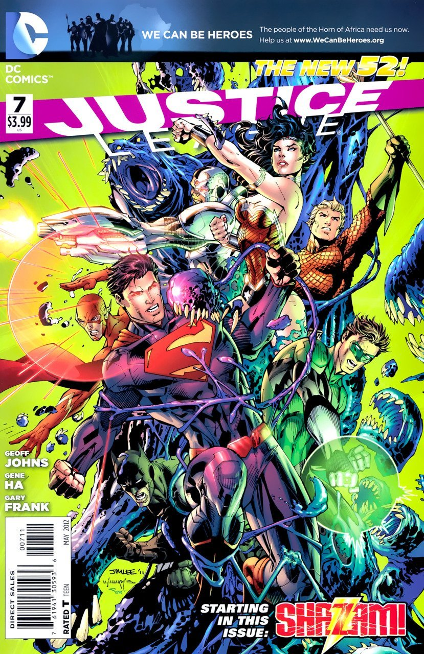 Justice League #7 [2012] VF/NM DC Comics *The New 52*