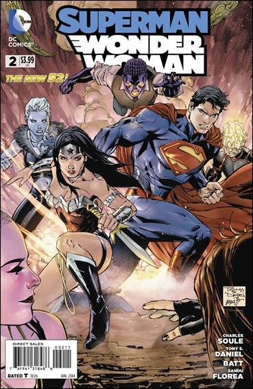 Superman Wonder Woman #2 [2014] VF/NM *The New 52*