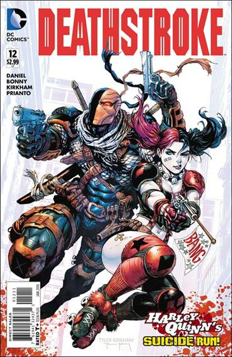 Deathstroke (Vol 2) #12 [2015] VF/NM