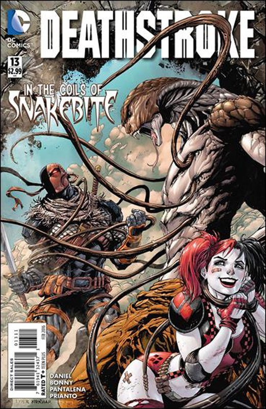 Deathstroke #13 [2016] VF/NM DC Comics