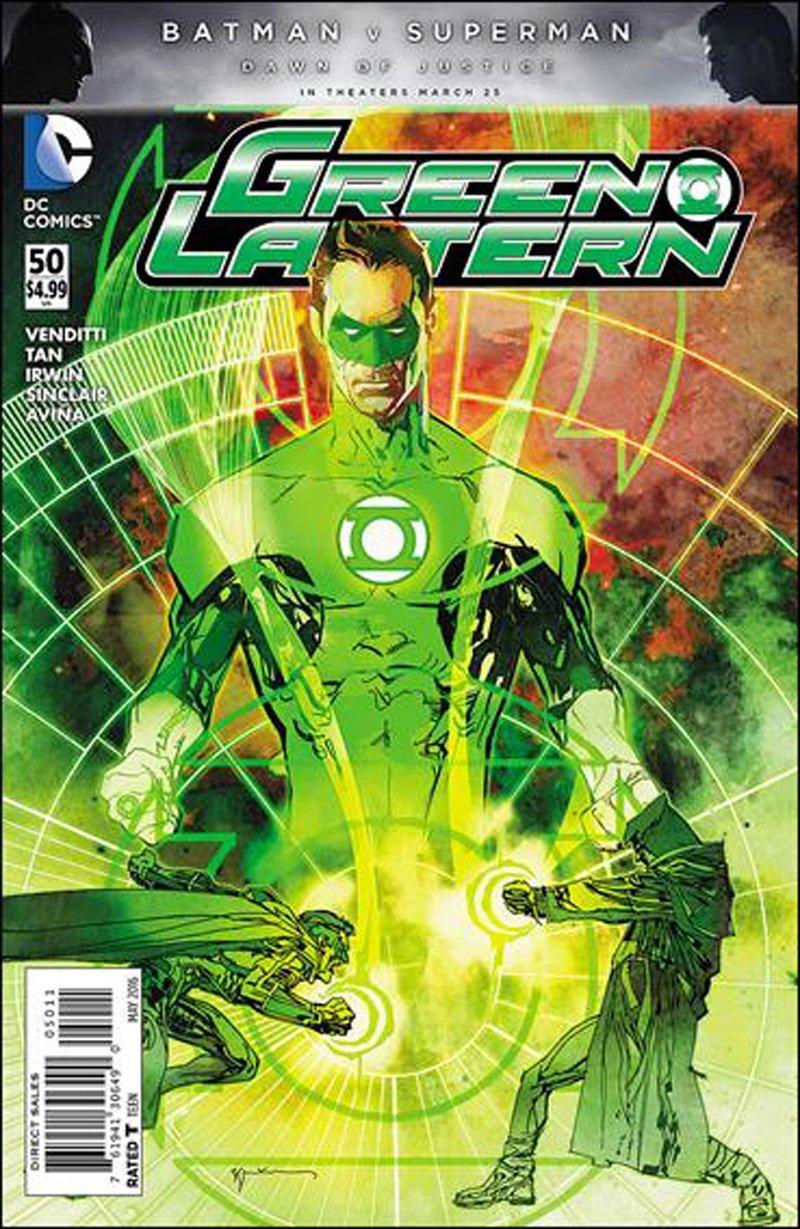 Green Lantern #50 [2016] VF/NM DC Comics