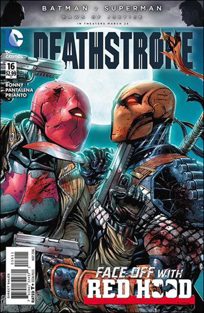 Deathstroke #16 [2016] VF/NM DC Comics