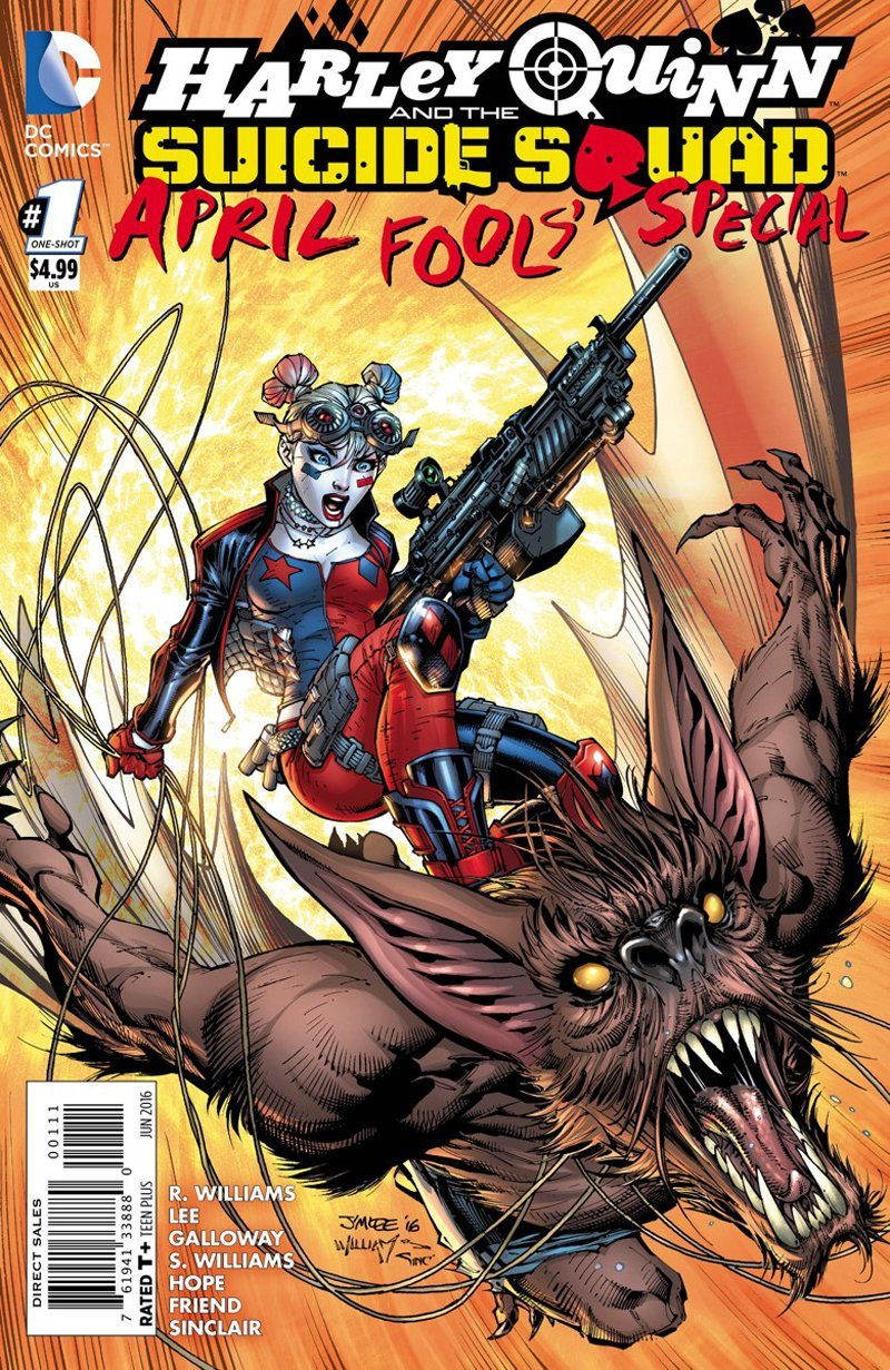 Harley Quinn & the Suicide Squad April Fool's Special #1 [2016] VF/NM DC Comics