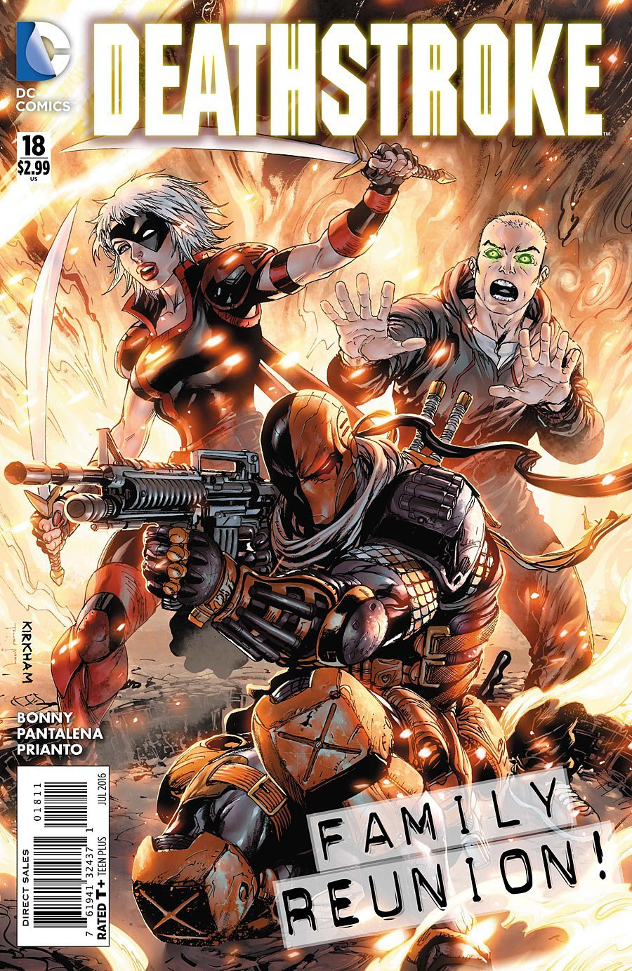 Deathstroke #18 [2016] VF/NM DC Comics