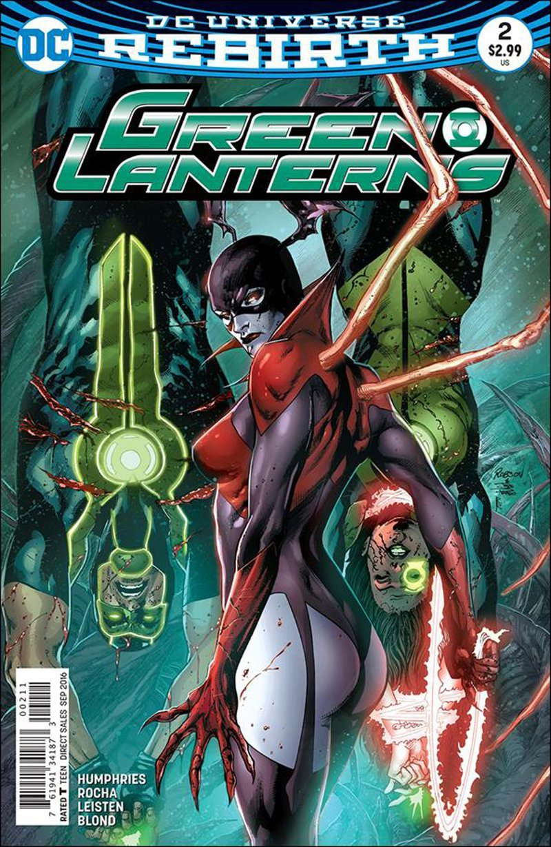 Green Lanterns #2 [2016] VF/NM DC Comics