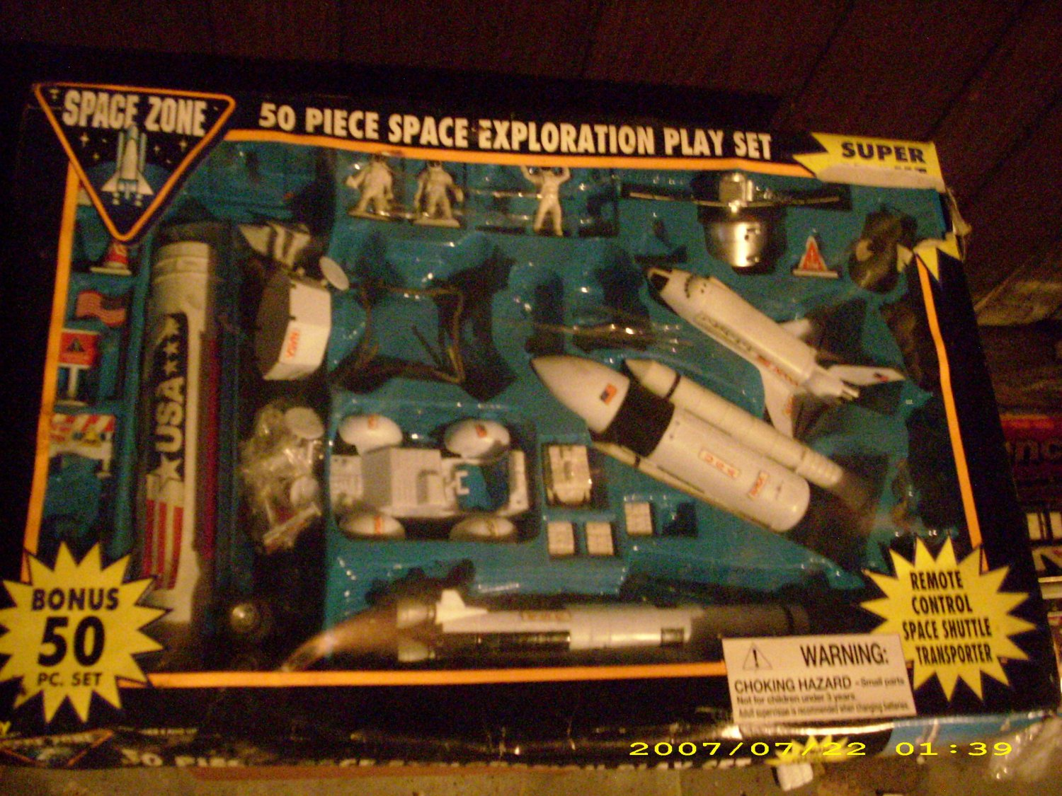 Collector Space Exploration Play set