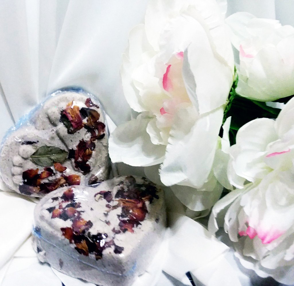 Ethereal Coconut Milk Bath Bombs