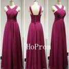 Chiffon Prom Dress, Long Prom Dresses, A-Line Evening Dress
