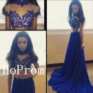 High Neck Prom Dress,Short Sleeve Prom Dresses,Evening Dress