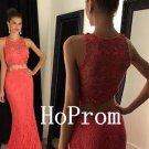Sheath Lace Prom Dress,Mermaid Prom Dresses,Long Evening Dress