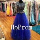 Cap Sleeve Prom Dress,A-Line Prom Dresses,Long Evening Dress