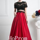 Black Lace Prom Dress,Red Satin Prom Dresses,Long Evening Dress