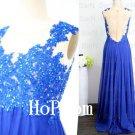 A-Line Prom Dress,Applique Prom Dresses,Chiffon Evening Dress