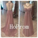 See Through Prom Dress,Sleeveless Prom Dresses,Long Evening Dress