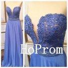 Sweetheart Prom Dress,Chiffon Prom Dresses,Long Evening Dress