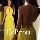 Backless Prom Dress,A-Line Prom Dresses,Evening Dress