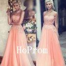 A-Line Beaded Prom Dress,Strapless Prom Dresses,Evening Dress