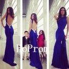 Royal Blue Prom Dress,Sexy Long Prom Dresses,Evening Dress
