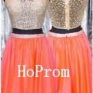 Beaded Short Homecoming Dress,Sleeveless Homecoming Dresses,Prom Dress