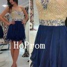 Sweetheart Homecoming Dress,Beaded Short Homecoming Dresses,Prom Dress