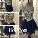 Elegant Beaded Homecoming Dress,Short Homecoming Dresses,Prom Dress
