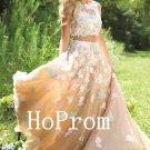 Open Back Prom Dress,Lace Long Prom Dresses,Evening Dress