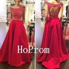 Off Shoulder Prom Dress,Two Piece Prom Dresses,Evening Dress