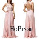 Sleeveless Prom Dress,A-Line Prom Dresses,Evening Dress