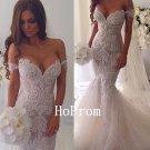 Off Shoulder Prom Dress,White Mermaid Prom Dresses 2017