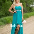 High Low Prom Dress,Strapless Prom Dresses 2017