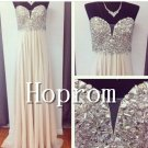 A-Line Prom Dress,Sweetheart Prom Dresses2017