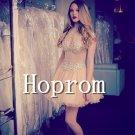 Sleeveless Prom Dress,Short Mini Prom Dresses 2017