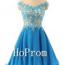 Off Shoulder Homecoming Dresses,Applique Prom Dresses