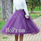 Knee Length Tulle Skirt,Short Skirt